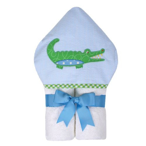 Blue Alligator Everykid Towel