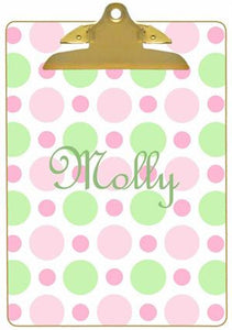 Personalized Bubble Gum Clipboard