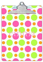 Personalized Bubble Gum Lip Gloss Clipboard