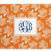 Coral Repeat Glass Cutting Board