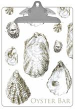 Antique Oyster Shells Clipboard