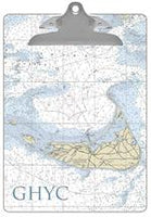 Nantucket Nautical Chart Clipboard
