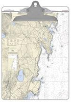 Camden Nautical Chart Clipboard