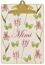 Tulips & Butterflies Clipboard
