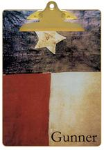 Antique Texas Flag Clipboard