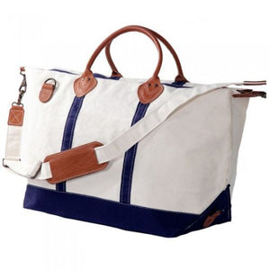 Personalized Navy Weekender