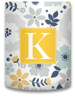 Personalized Blooms Koozie