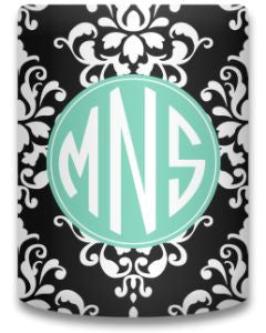 Personalized Damask Koozie