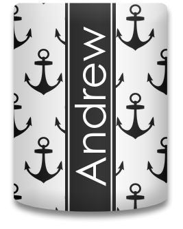 Personalized Anchors Koozie