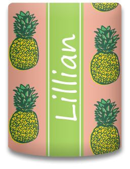 Personalized Pineapple Koozie