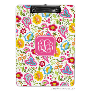 Bright Floral Clipboard
