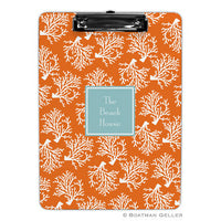 Coral Repeat Clipboard