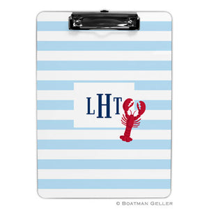 Stripe Lobster Clipboard