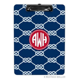 Nautical Knot Kelly Clipboard