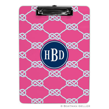 Nautical Knot Raspberry Clipboard