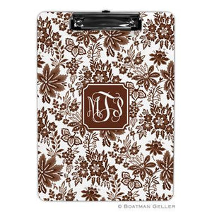 Classic Floral  Clipboard