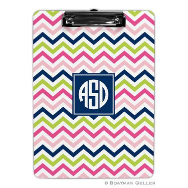 Chevron Multi-Color Clipboard