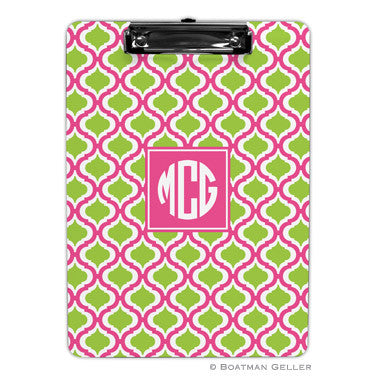 Kate Tangerine & Raspberry Clipboard