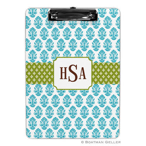 Betti Teal Clipboard