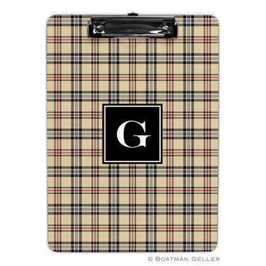 Town Plaid Clipboard