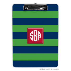 Rugby Navy & Kelly Clipboard