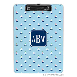Little Sailboat Blue Clipboard