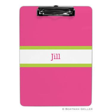 Single Bold Stripe Clipboard