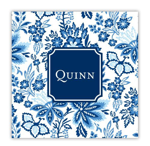 Classic Floral Blue Coaster