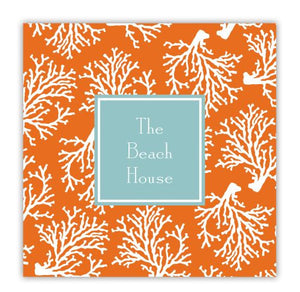 Coral Repeat Coaster