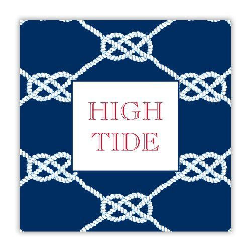 Nautical Knot Kelly Coaster