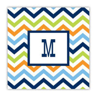 Chevron Multi-Color Coaster