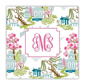 Chinoiserie Full Color Coaster
