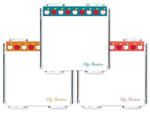 Personalized Apple Mini Memos