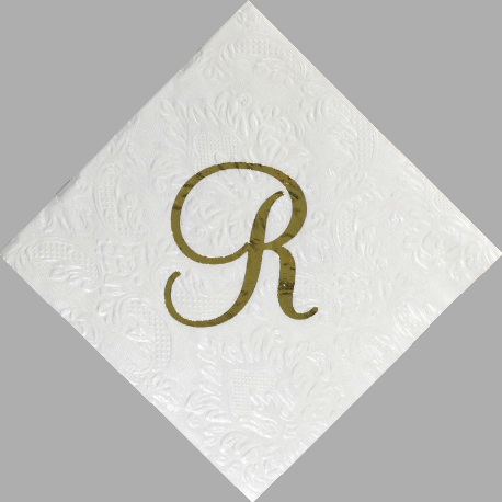 Custom Carte Paper Napkins