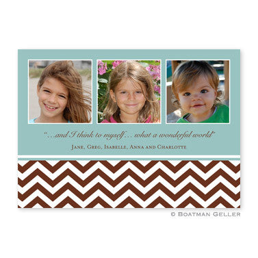 Chevron Chocolate 3 Photocard