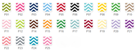 Chevron Clipboard (25 Colors)