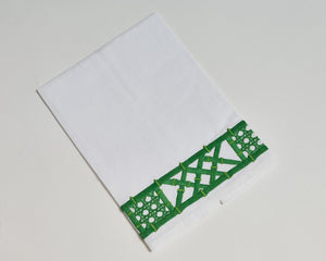 Haute Home Green Coconut Row Towel