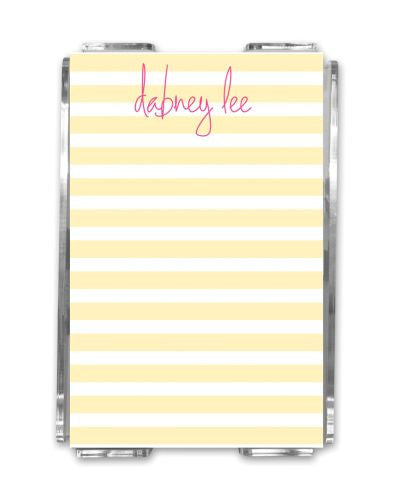 Cabana Memo Notes and Holder