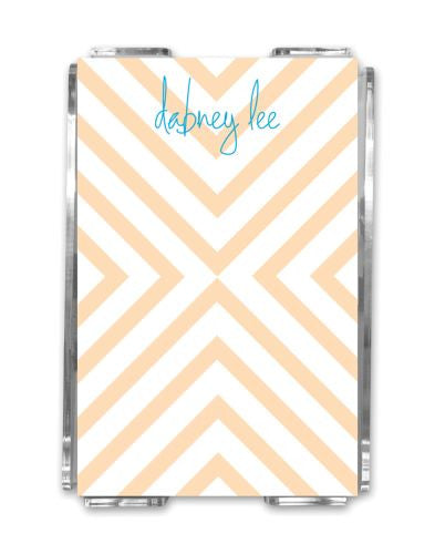 Chevron Memo Notes and Holder