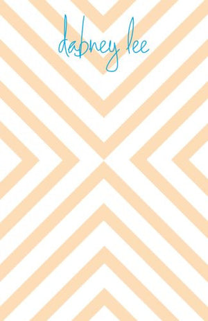 Personalized Chevron Notepads