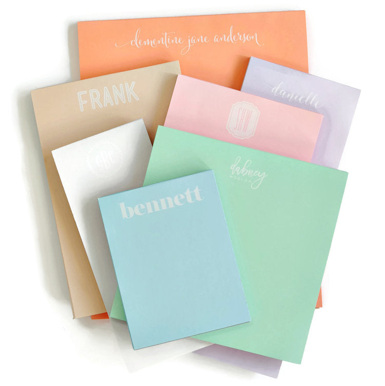 Design Your Own Pastel Notepad (Combo Pack)