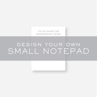 Design Your Own Executive Notepad