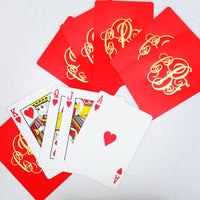 Personalized Solid Color Playing Cards