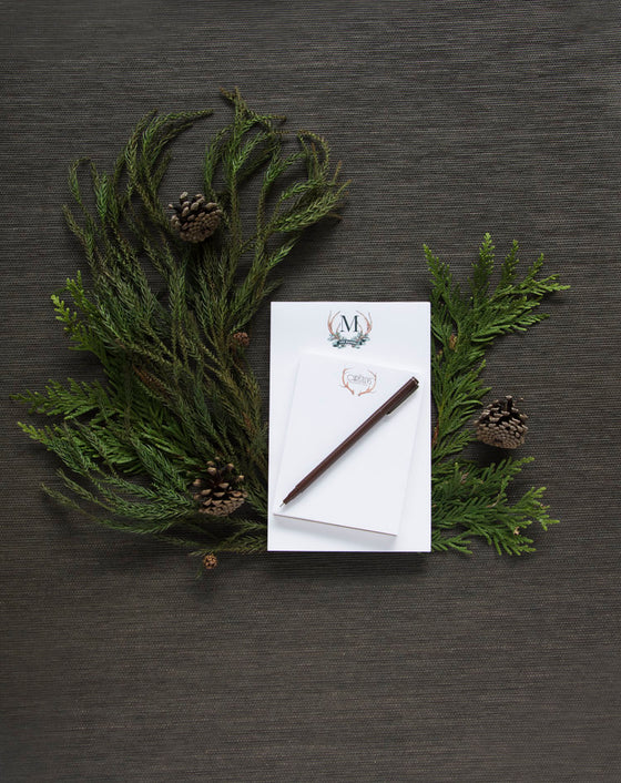 Design Your Own HOLIDAY Couture Crest Notepad