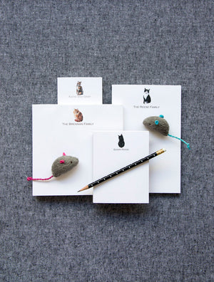 Design Your Own Cat Lovers Notepad