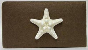 Espresso Linen Starfish Photo Album