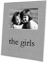 Black & White Gingham Picture Frame