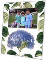 Hydrangea with Leaves Picture Frame