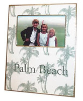 Sage Palms Picture Frame