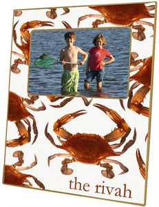 Cooked Crabs Picture Frame